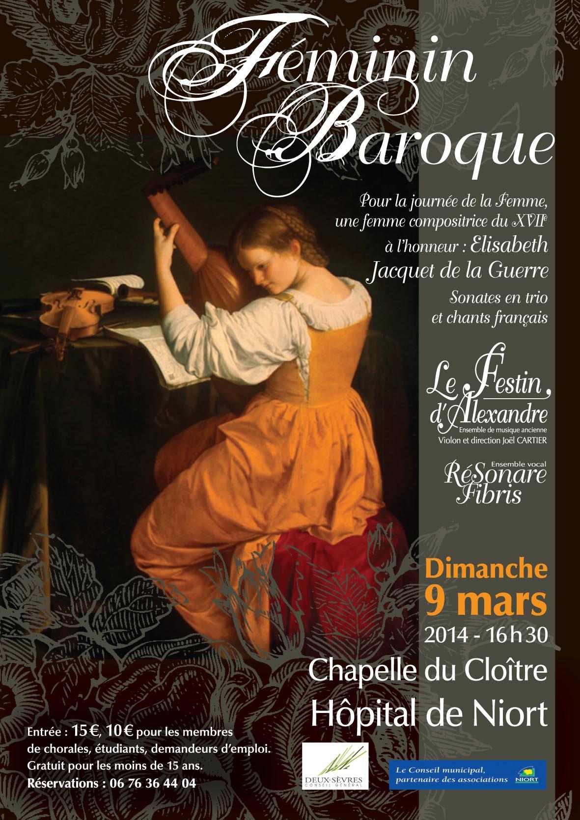 Féminin baroque