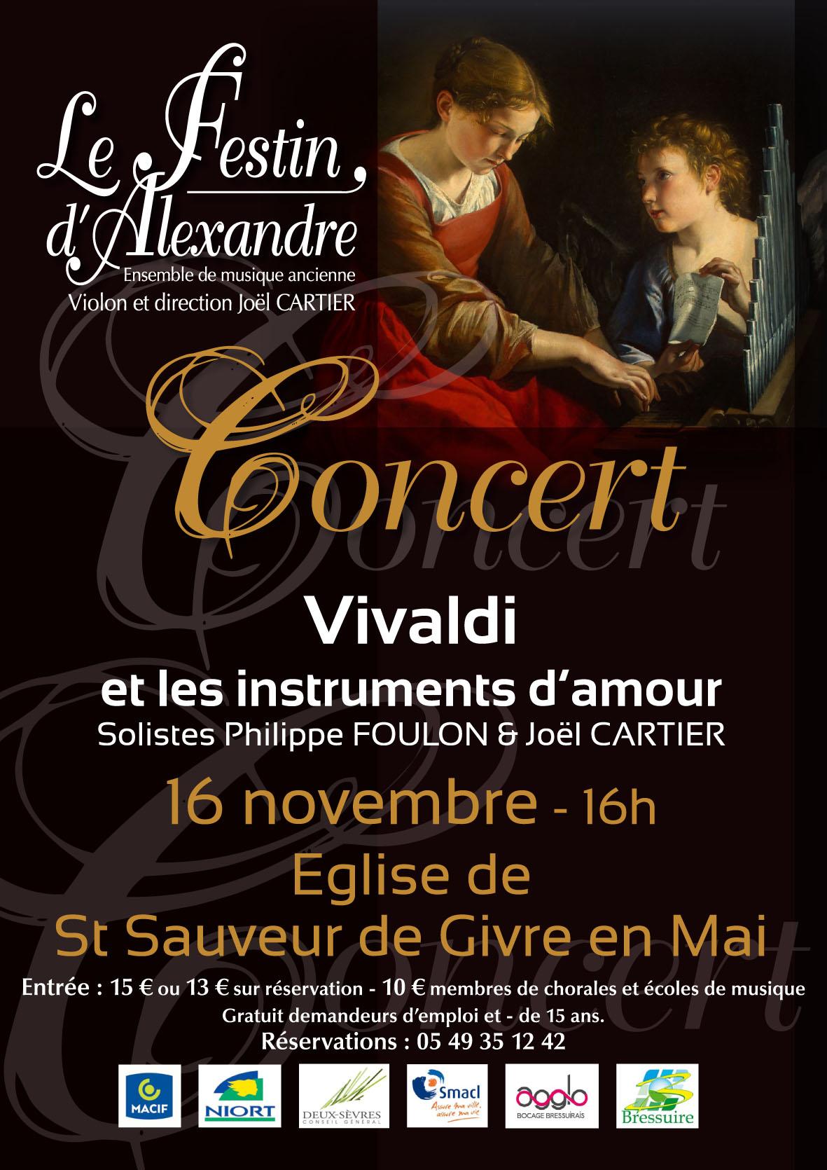 Vivaldi pour instruments d'amour à Bressuire