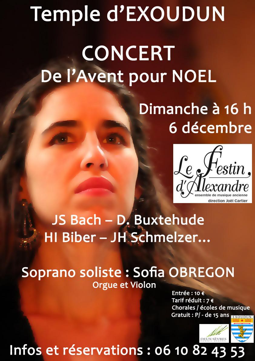 Concert de l'Avent pour Noël