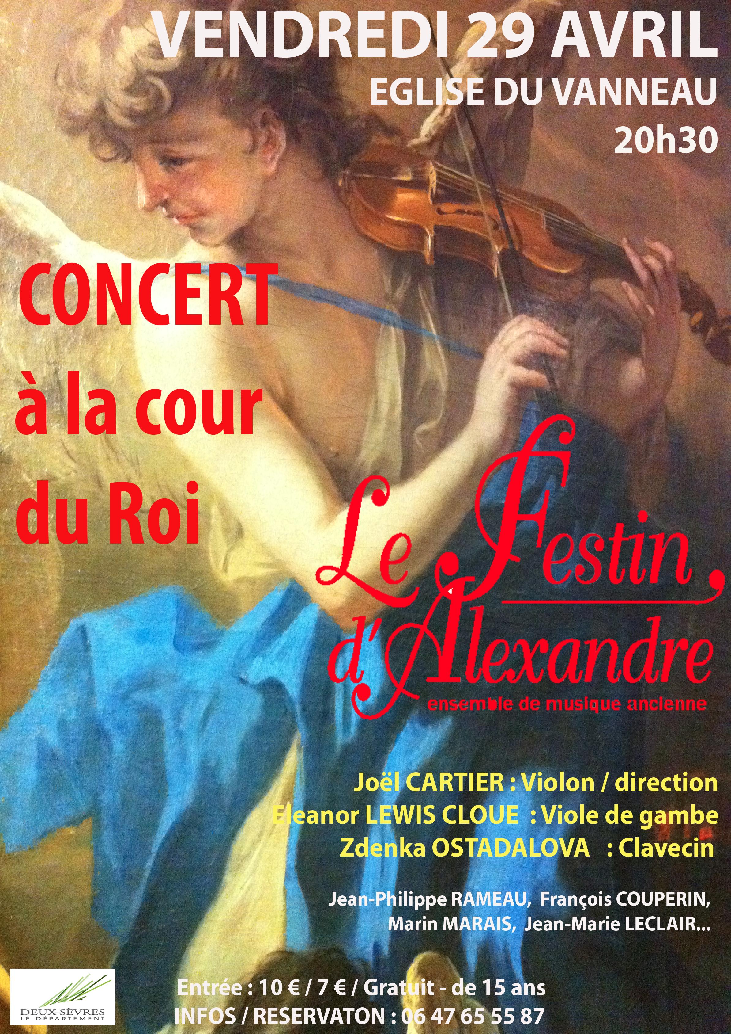 Concert à la Cour du Roi