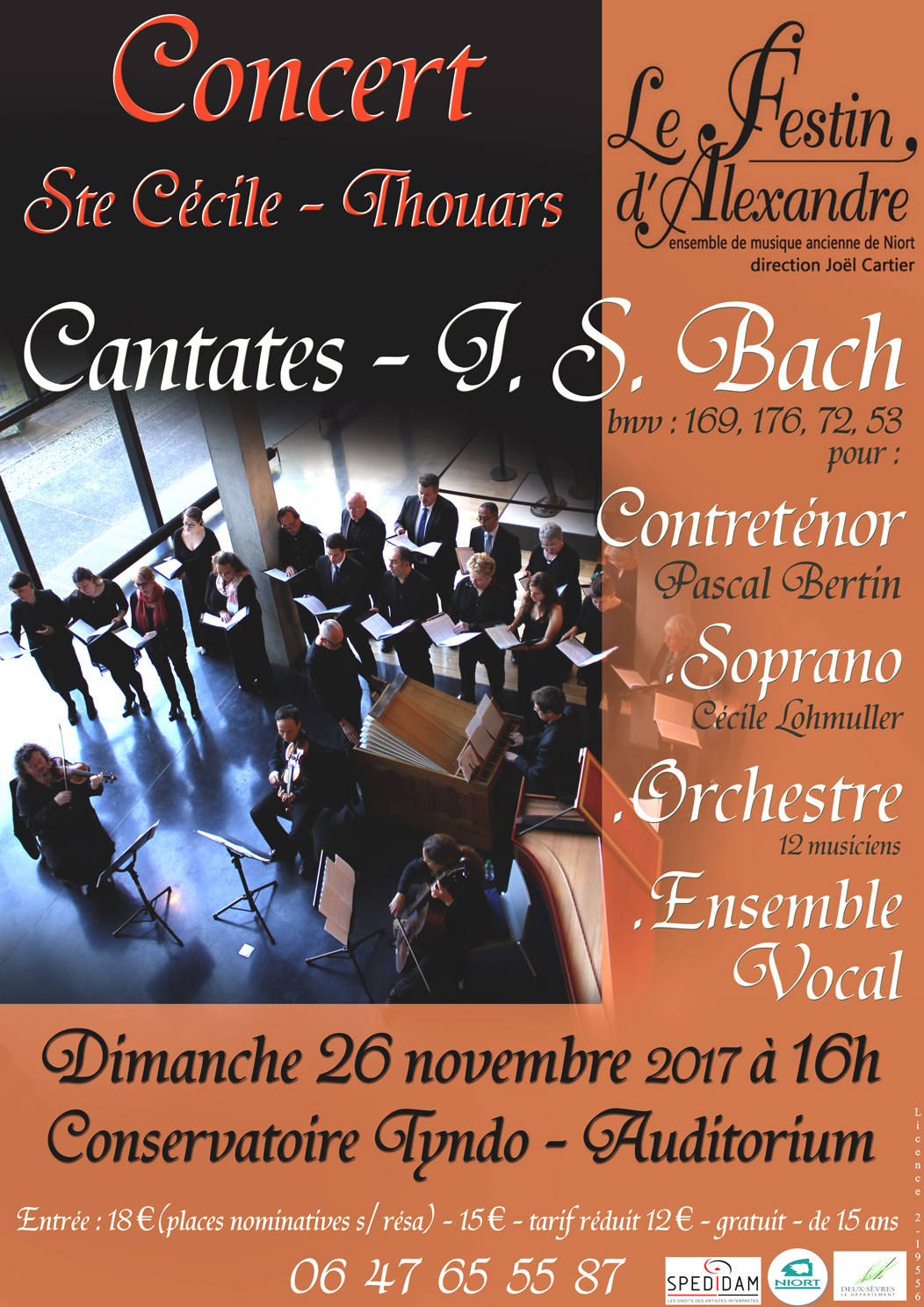 Cantates Bach - Contreténor