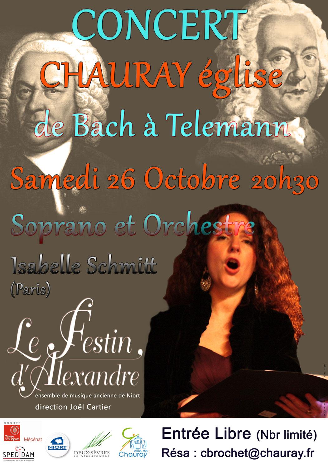 De Bach à Telemann