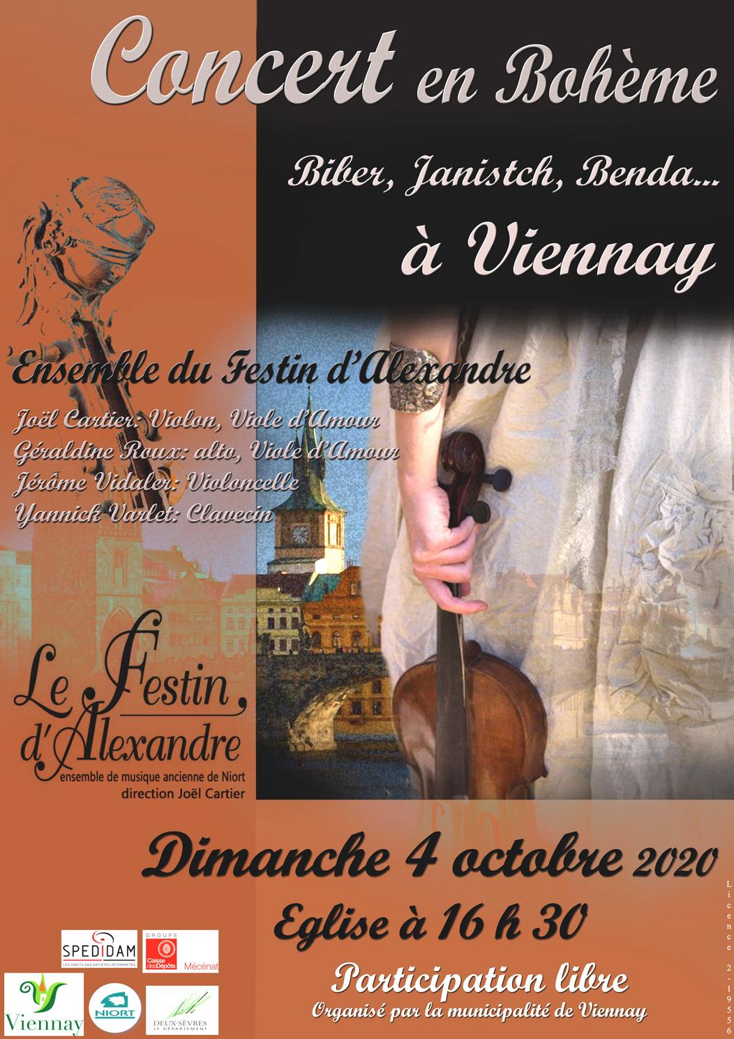 Concert en Bohême