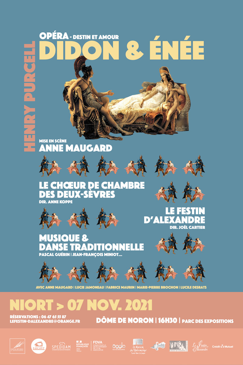 "Opéra : ""Didon et Enée """