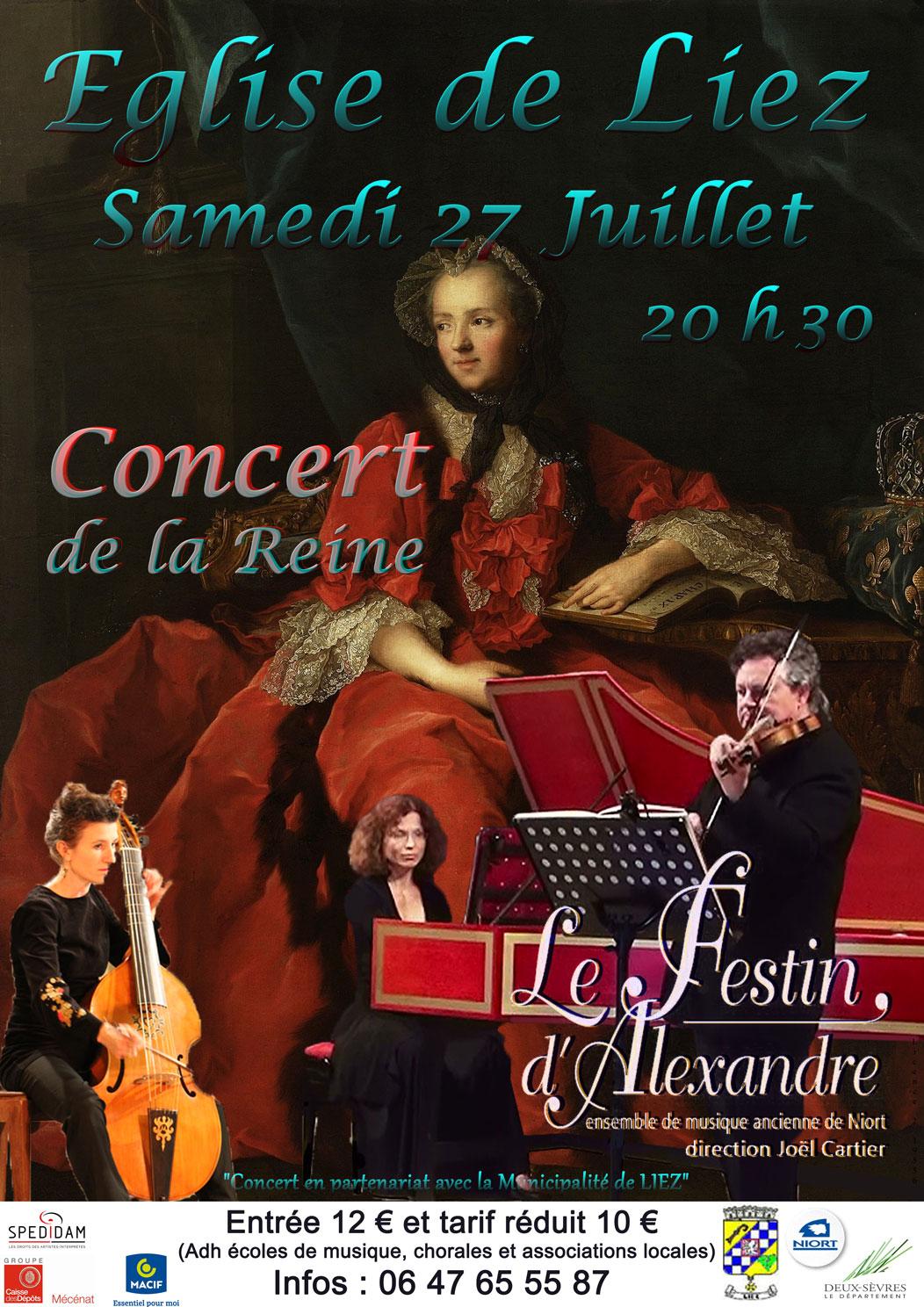 Concert de la Reine